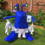 'Aliens love underpants' scarecrow - 2017.
