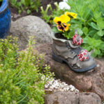 Quirky boot planter - 2011.