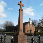 War Memorial in Hollins Green in 2010.