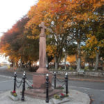 War Memorial in the Autumn.