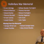 Local fallen heroes - 100yr Commemoration Evening - 10th November 2018.