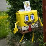 Sponge Bob Square Pants scarecrow - 2013.