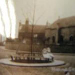 Tree in front of St. Helen's Church, Hollinfare pre War Memorial.