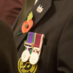 War medals proudly worn by Irlam Male Voice Choir member - 100yr Commemration Evening - 10th November 2018.