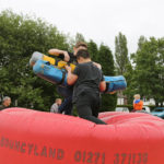 Bouncyland challenges the youngsters - Carnival 2017.