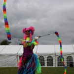 Standing Tall - Circus Skills -Carnival 2017.