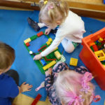 Construction toys help to fire children's imagination and develop mathematical skills.