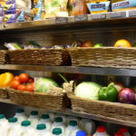 Fresh fruit, vegetables, meat and dairy products are on offer daily, along with many other convenience items.