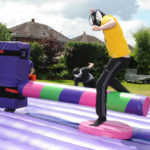 Wipe-out challenge popular with visitors to the 2016 Carnival.