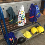 Role Play materials - outdoor play.