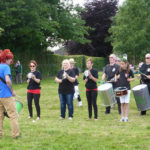 Street Band - just one of several song and dance performances to entertain visitors.