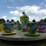 Tea-cup carousel, popular with the children - 2015 Carnival.