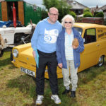 Vintage vehicles on show at the 2016 Carnival.