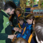 Nine Cubs enjoyed a workshop at Pets at Home at the Trafford Centre - February 2014.