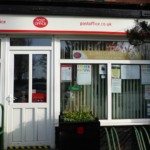 Glazebrook Post Office and shop, Glazebrook Lane.