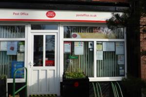 Glazebrook Post Office and shop, Glazebrook Lane