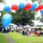Picnic on Glazebrook Green - June 2012