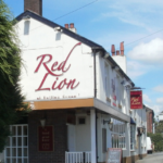 Red Lion Pub on Manchester Road, Hollins Green.