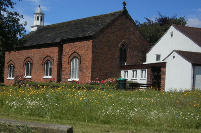 St. Helen's C of E Church, Hollins Green.